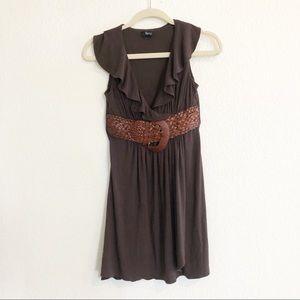Boho Belted Dress